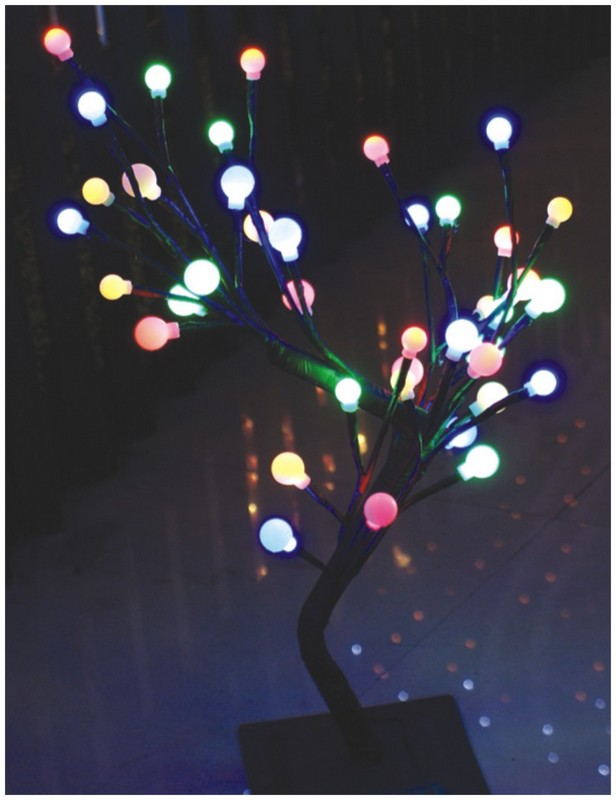 manufacturer In China FY-003-B13 LED cheap christmas branch tree small led lights bulb lamp  factory