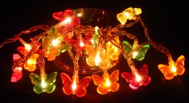 manufacturer In China FY-03A-005 Butterflies LED cheap christmas small led lights bulb lamp  distributor